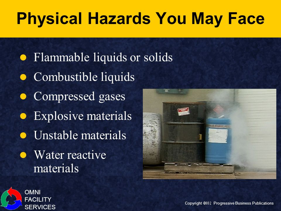 Physical Hazards You May Face