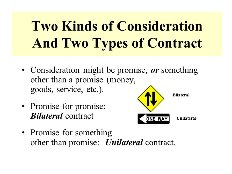 essays on consideration in contract law