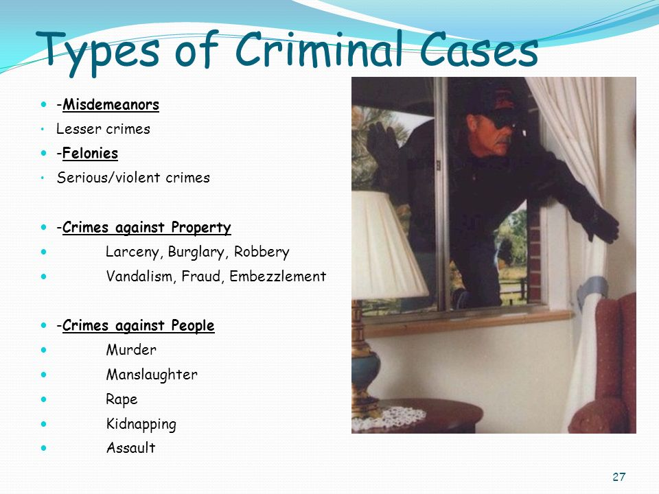 types of manslaughter A person charged with manslaughter is accused of being unintentionally  responsible for the unlawful death of another person a separate crime from  murder,.