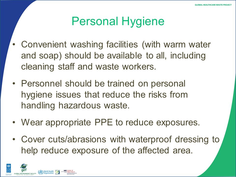 personal hygiene issues Learn about diseases and conditions that can cause poor hygiene with medicinenet's attend to one's personal needs poor hygiene often.