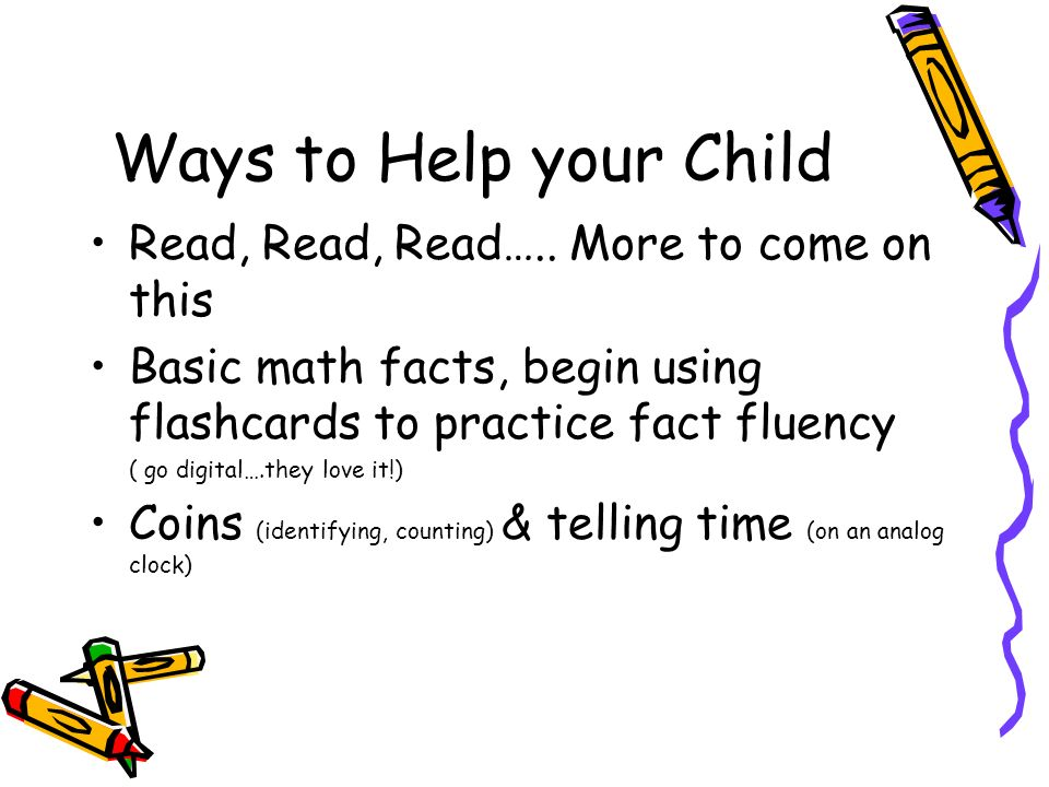 how to help a child read