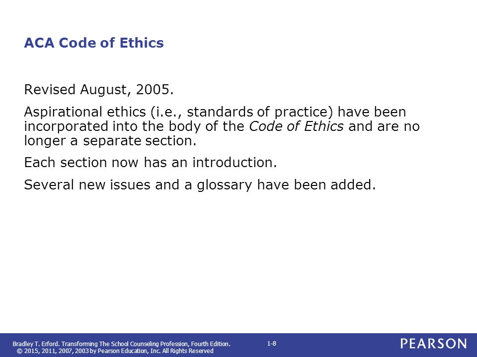 code of ethics paper revised Preamble to the ada principles of ethics and code of professional conduct.