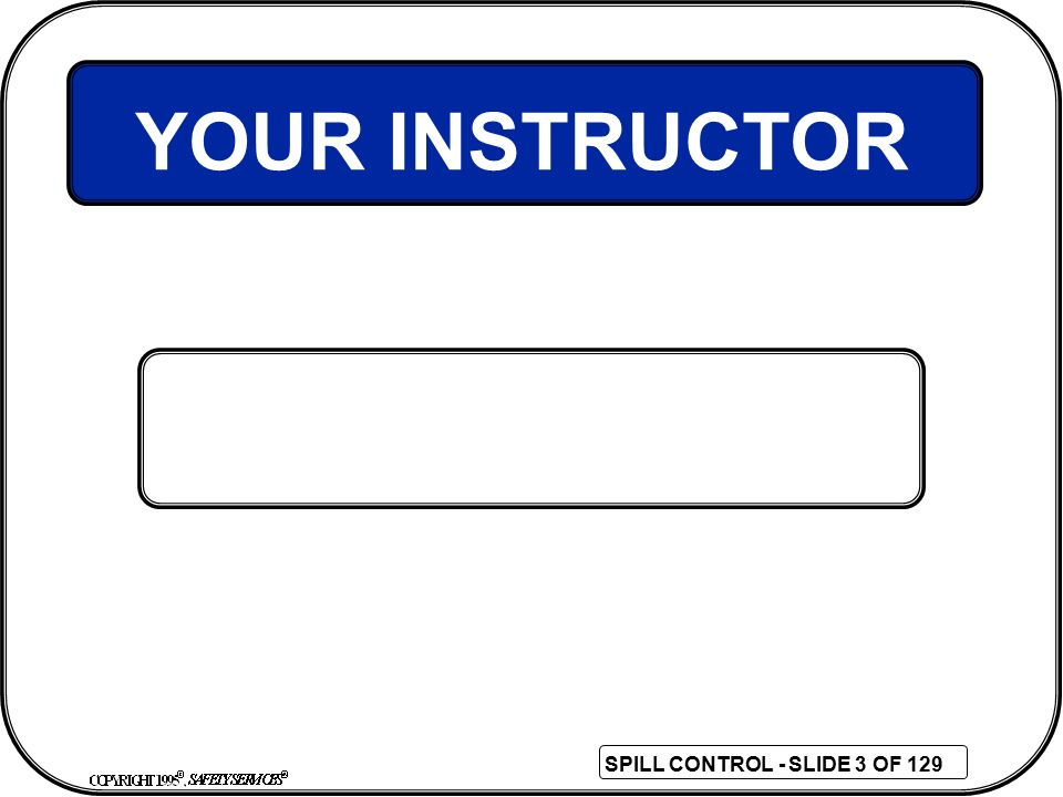 YOUR INSTRUCTOR 3