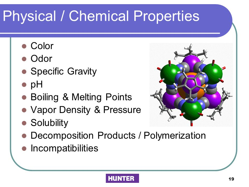 Physical / Chemical Properties