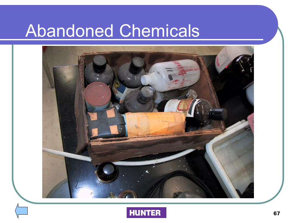 Abandoned Chemicals