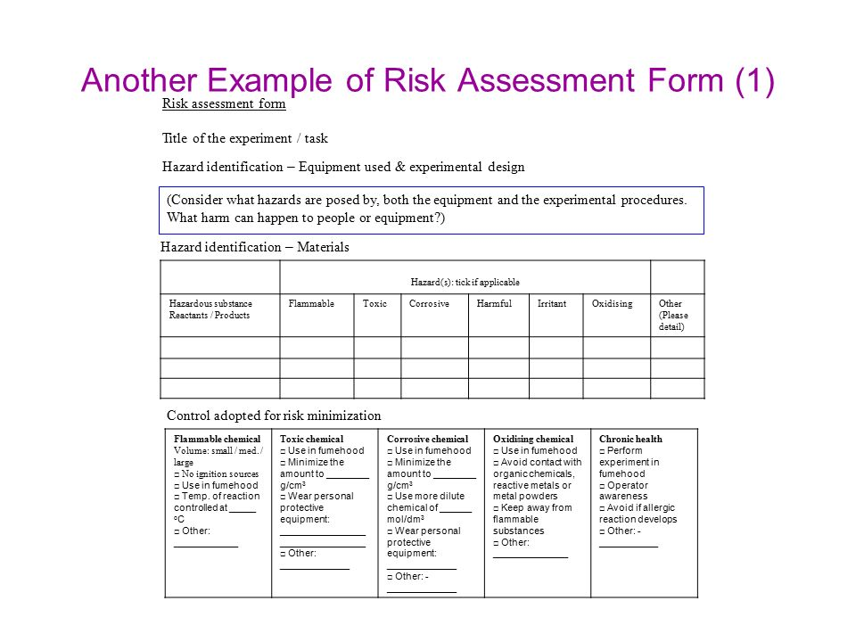 About Risk Assessment Sophia Cheng 3 Nov Ppt Video Online Download