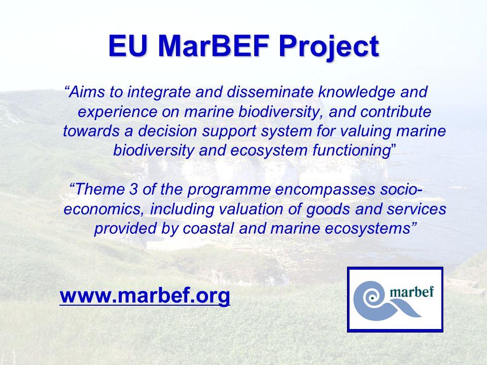 EU MarBEF Project www.marbef.org