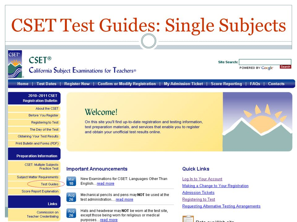 CSET Study Guides - YouTube