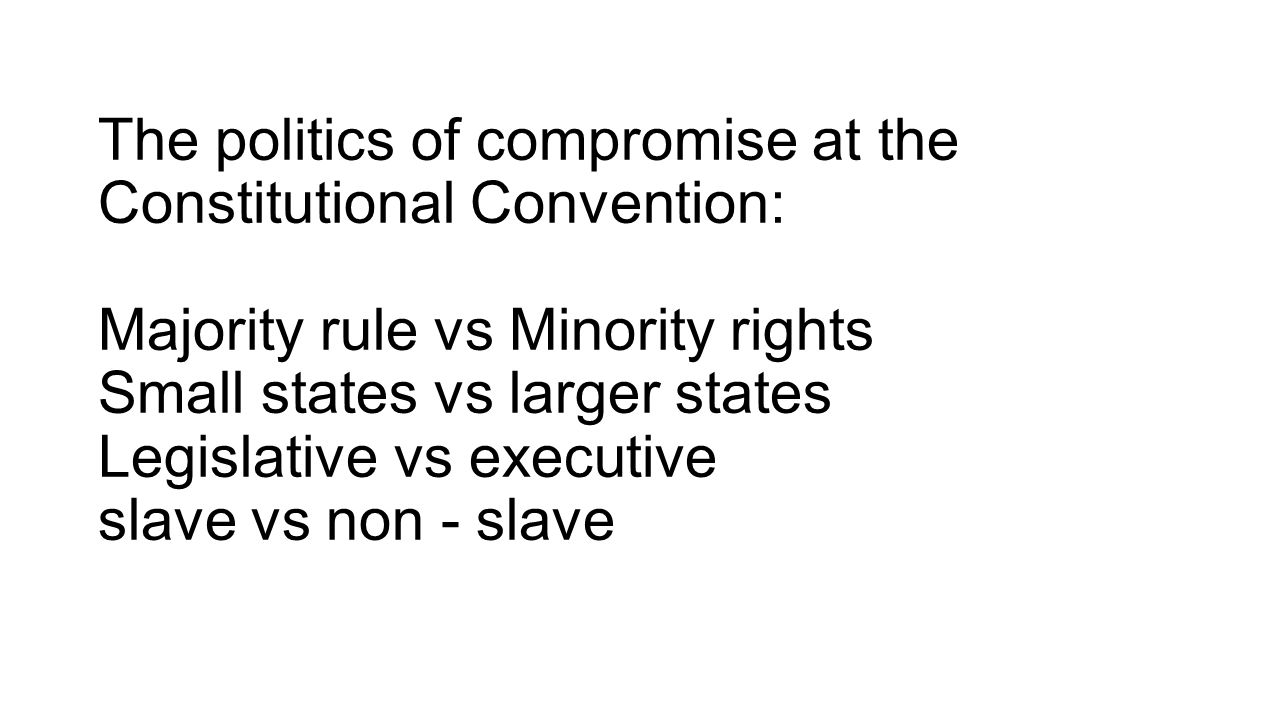 majority rule and minority rights Minority rights, majority rule: partisanship and the development of congress [sarah a binder] on amazoncom free shipping on qualifying offers minority rights, majority rule seeks to explain why majority parties have consistently been so powerful in the us house of representatives while minorities often prevail in the senate.