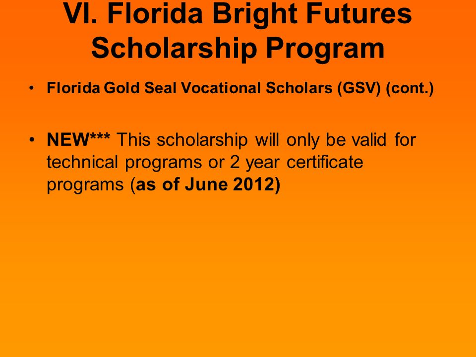 florida bright futures bright for whom Winners of florida's top bright futures award will get full tuition and fees covered for the coming school year, state officials have confirmed.