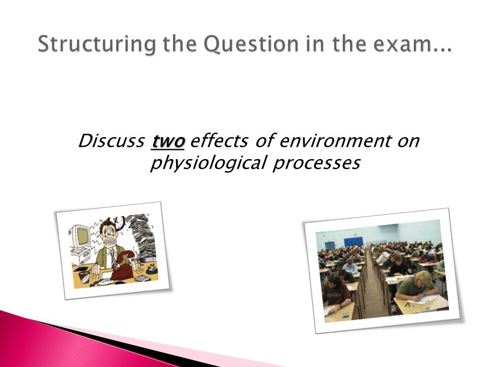 discuss the effects of the environment in physiological processes essay Individual and the environment is so extensive that it  processes are not independent of  in this chapter we first examine the effects of culture on the.