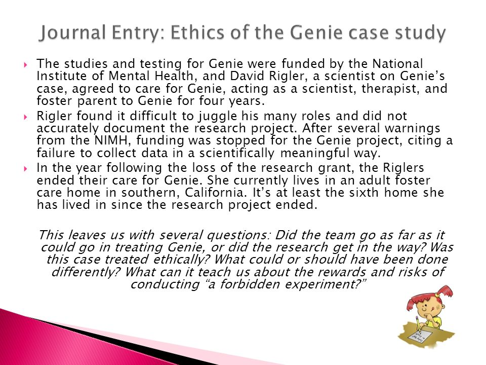 case study about ethical conduct in