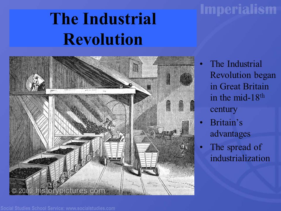 The benefits and problems caused by the Industrial Revolution