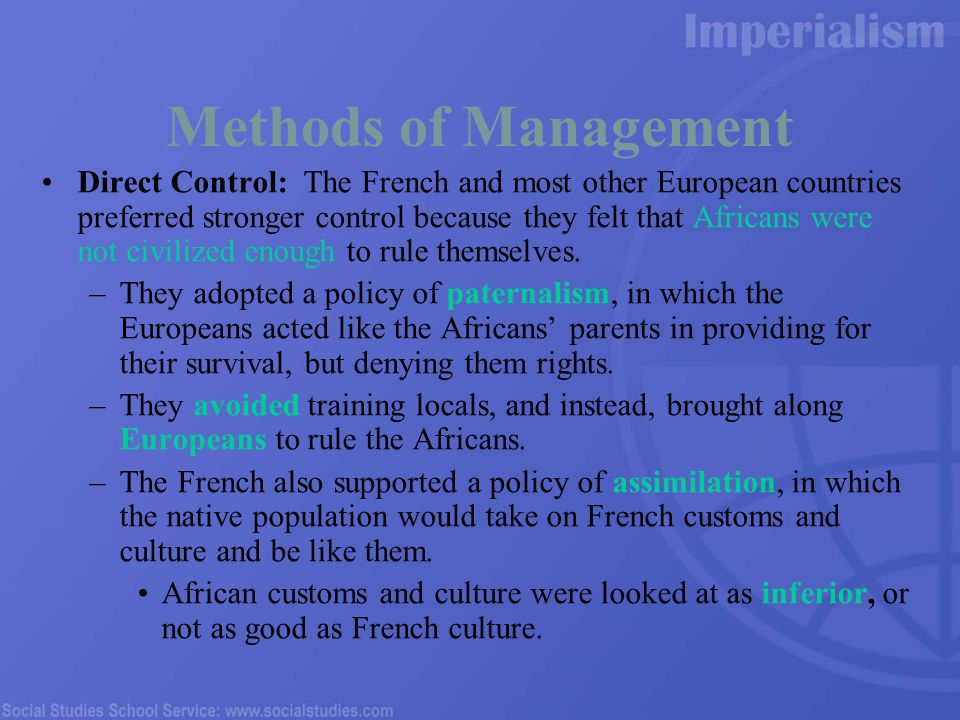 french policy of assimilation pdf
