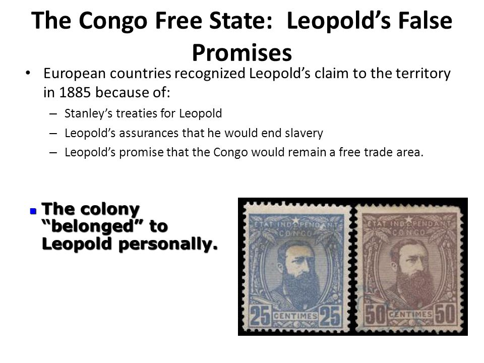 The Congo Free State: Leopold's False Promises