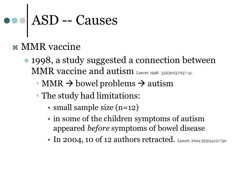 The MMR vaccine and autism: Sensation, refutation ...