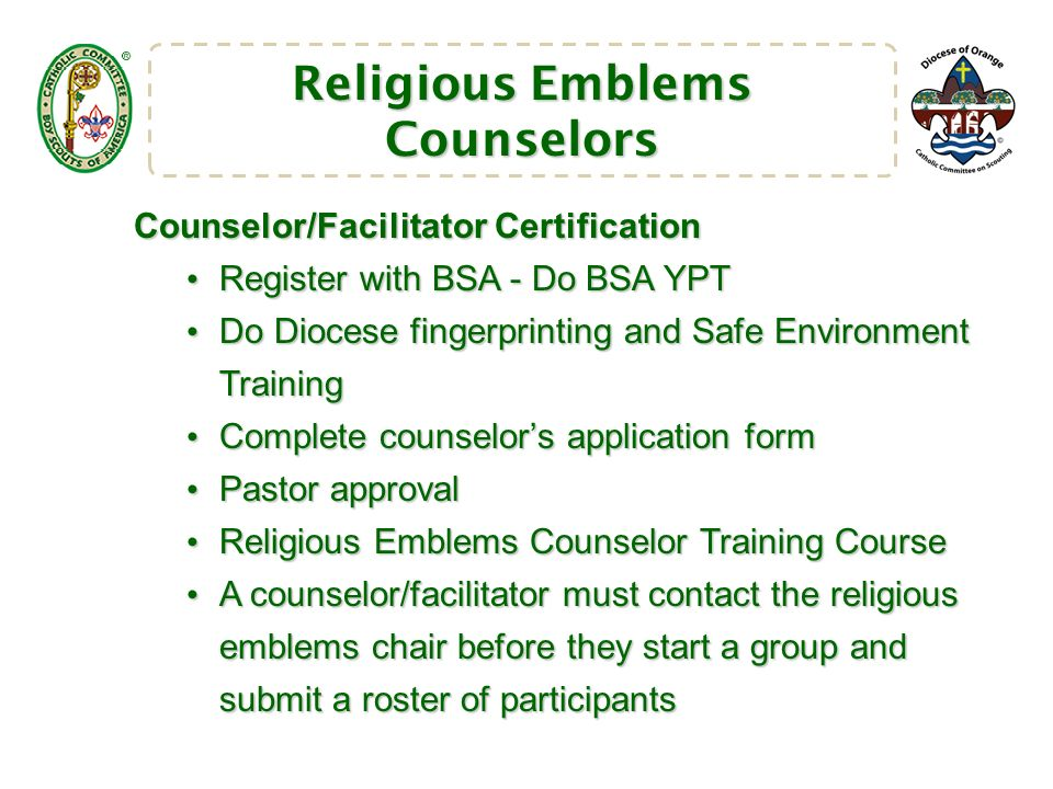 Catholic Committee on Scouting Diocese of Orange - ppt download