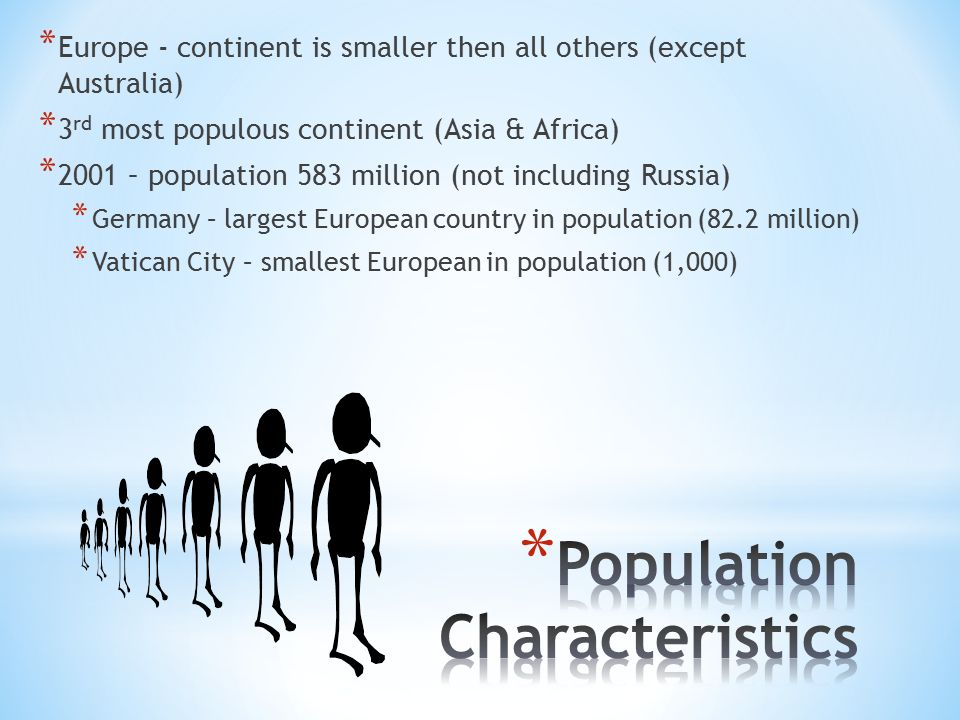 Chapter 12 cultural geography of europe ppt video online download population characteristics sciox Choice Image