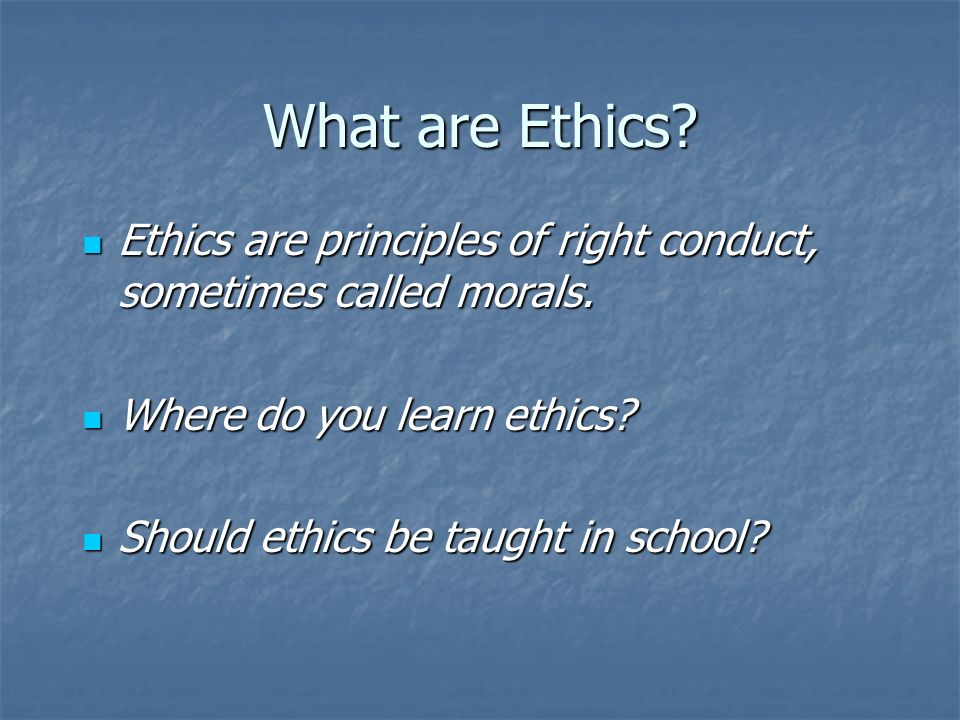 what did you learn from ethical lens When you see the world through an ethical lens things become clearer, richer, more nuanced your ability to dissect ethical problems becomes better ethics defined.
