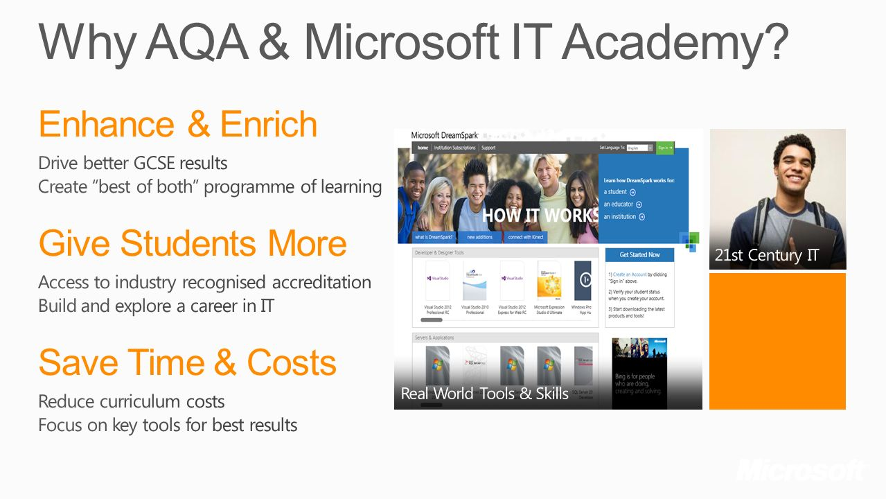 Why AQA & Microsoft IT Academy