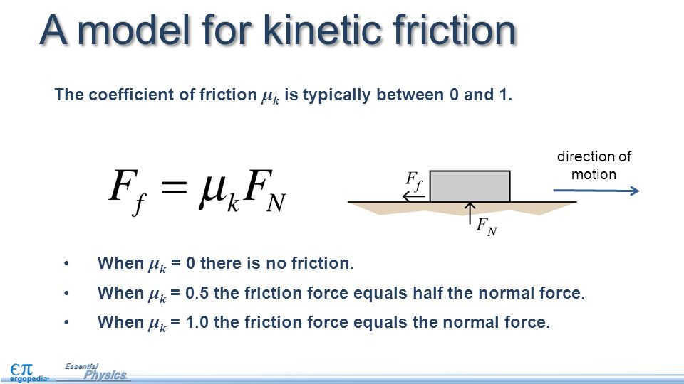 how to find the coefficient of friction with acceleration