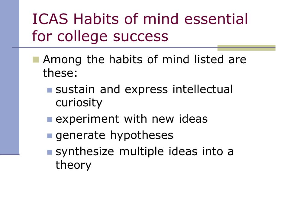 college essay intellectual curiosity The essays can be the most important components of your application read selected examples of essays that worked decidedly tall yet, my curiosity has always.