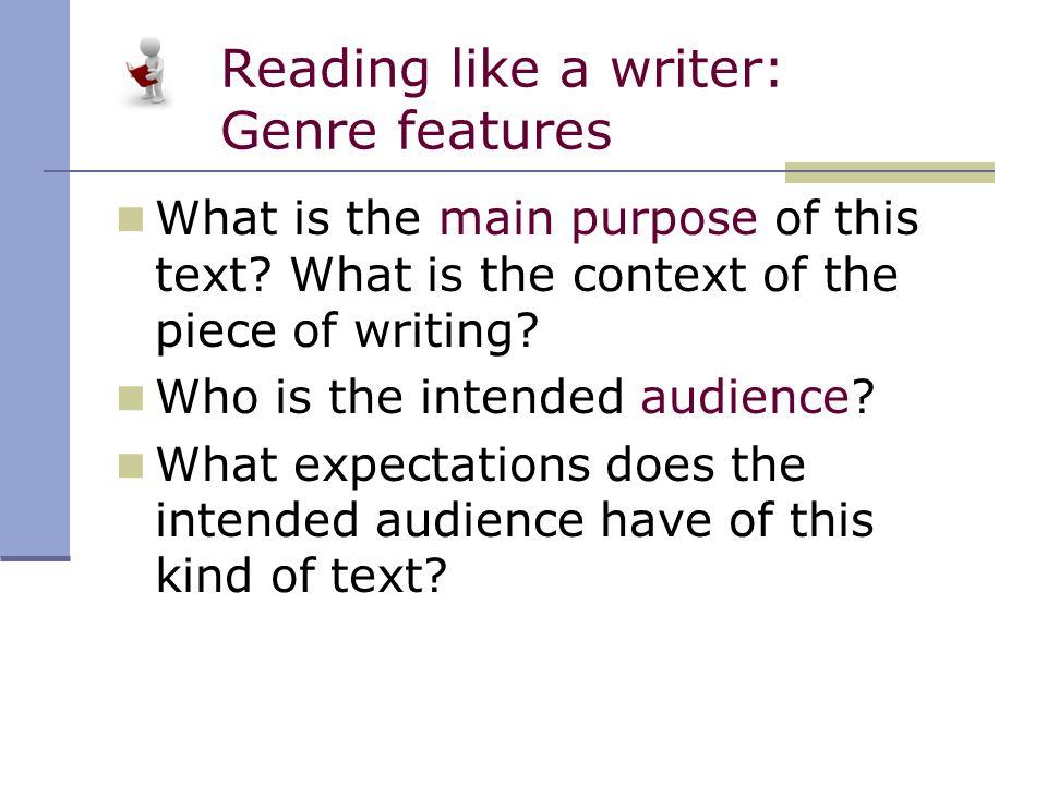 essay genre features