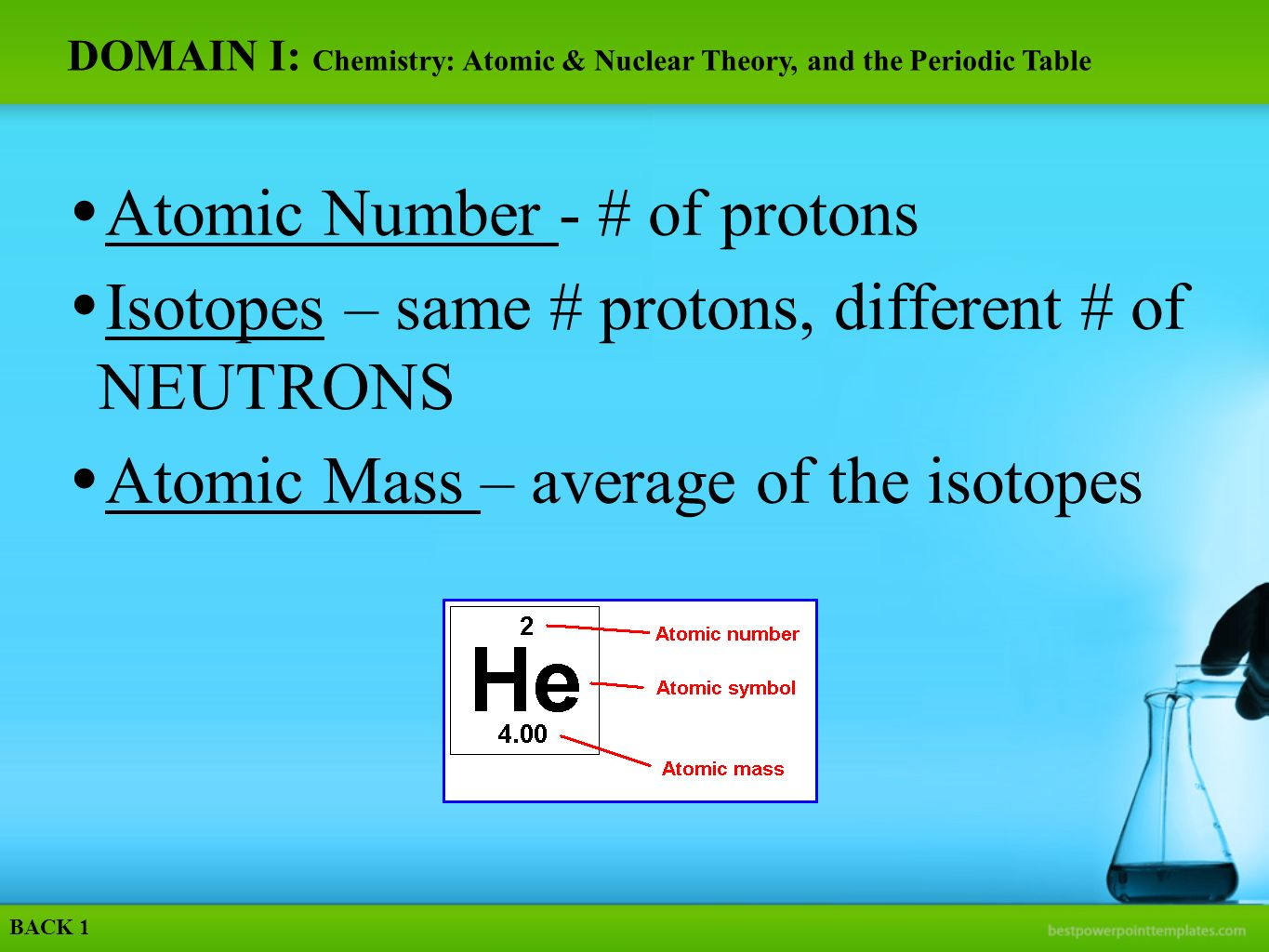 Physical science eoct etowah high school ppt download domain i chemistry atomic nuclear theory and the periodic table gamestrikefo Image collections
