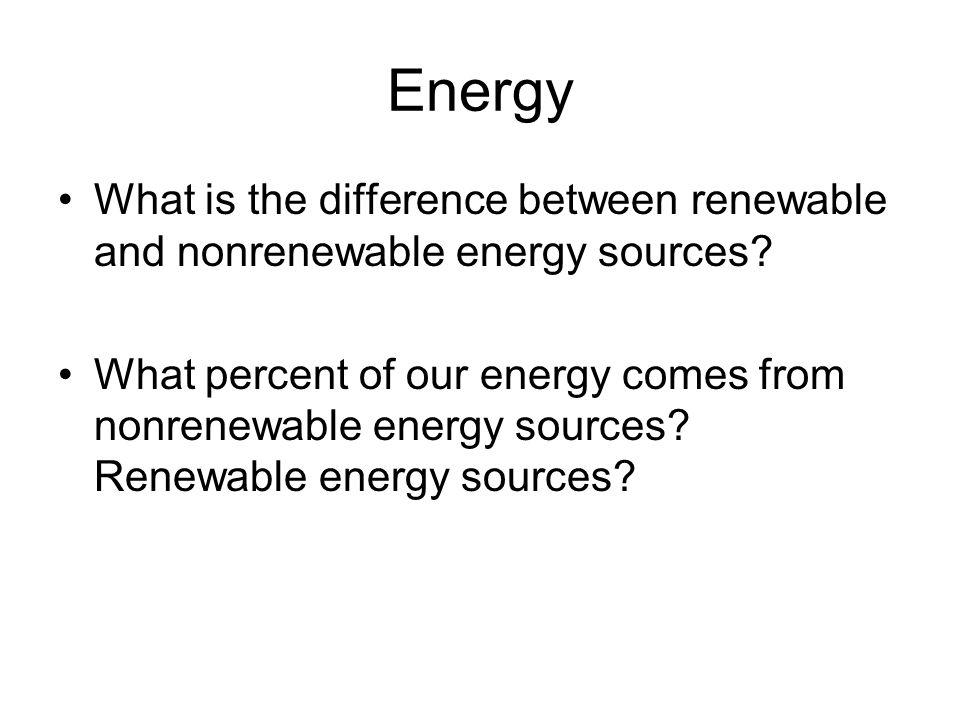 Nonrenewable Energy Sources - ppt download