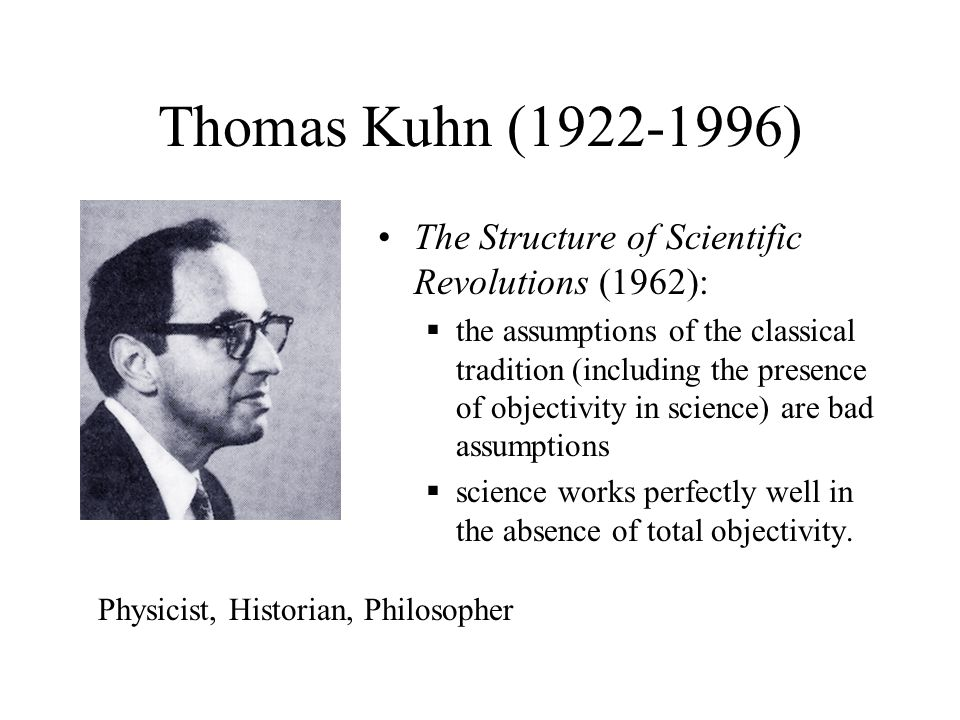 the meaning and significance of paradigms according to kuhn in the structure of scientific revolutio Many do not fully appreciate that the world is in the midst of a grand march of quantification through areas of human knowledge as the rapidly improving tools of.