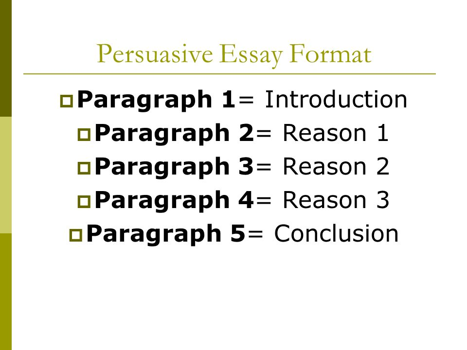 Examples of Persuasive Essay on Energy