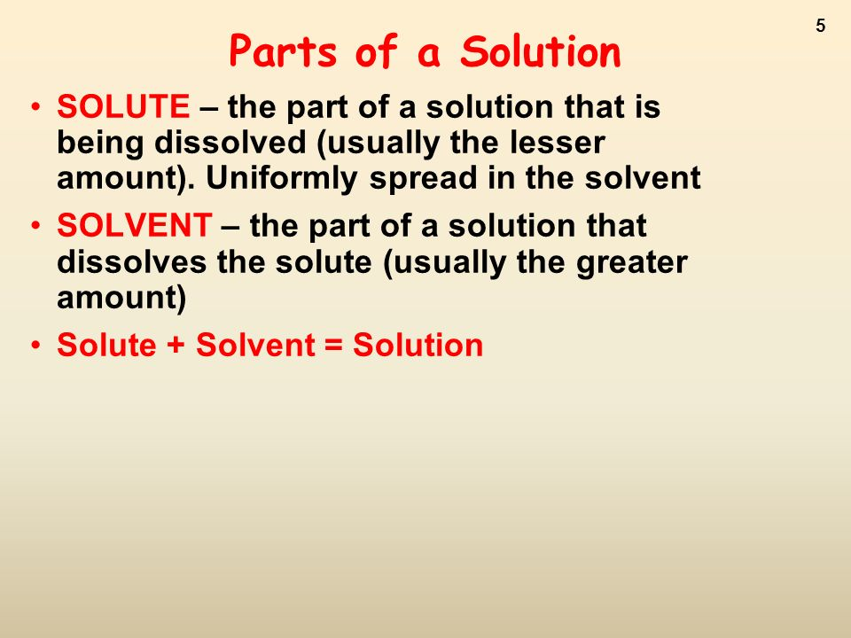 The Nature of Solutions ppt video online download – Solute and Solvent Worksheet