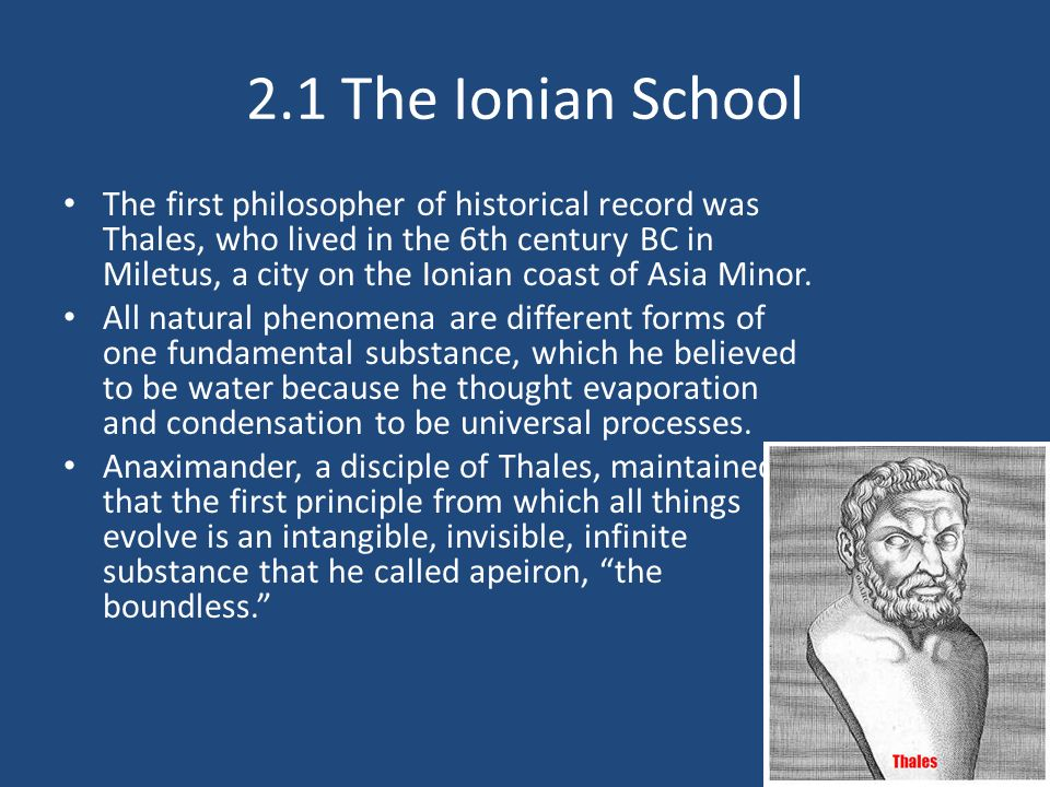 ionian philosophers Here is a mnemonic from category philosophy named ionian philosophers: the first 11 (and most important) ionian philosophers: thales, heraclitus, empedocles, leucippus, anaximander, democritus, zeno, anaximenes, protagoras, parmenides, anaxagoras.