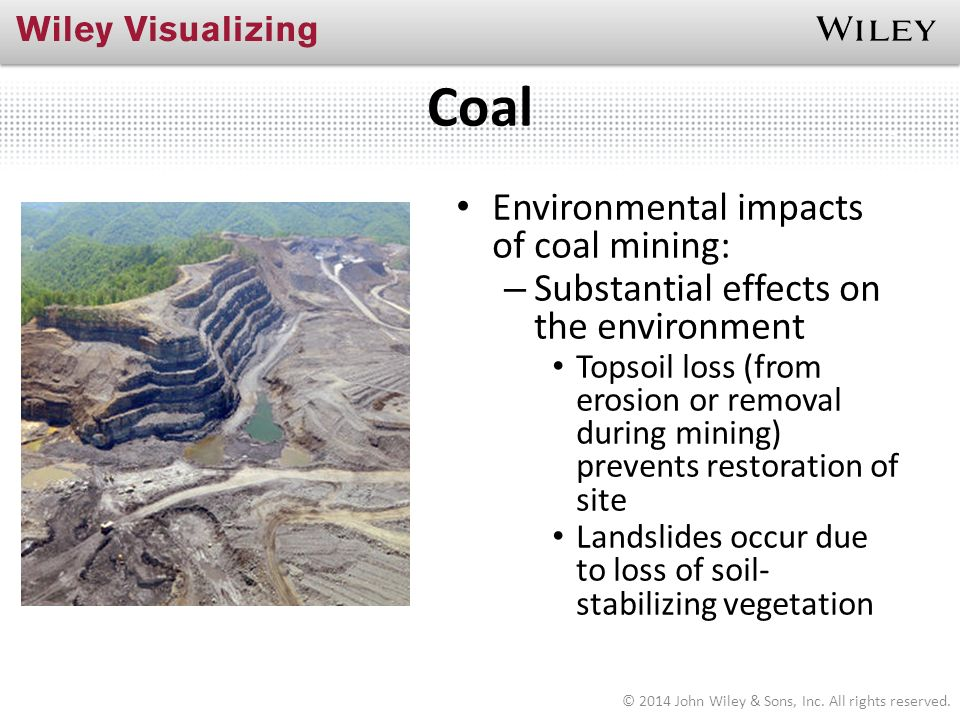 the harmful effects of coal mining environmental sciences essay Read this essay on essay about coal mining by 1350 someone who wanted to learn about science what are the effects of coal mining on the environment.