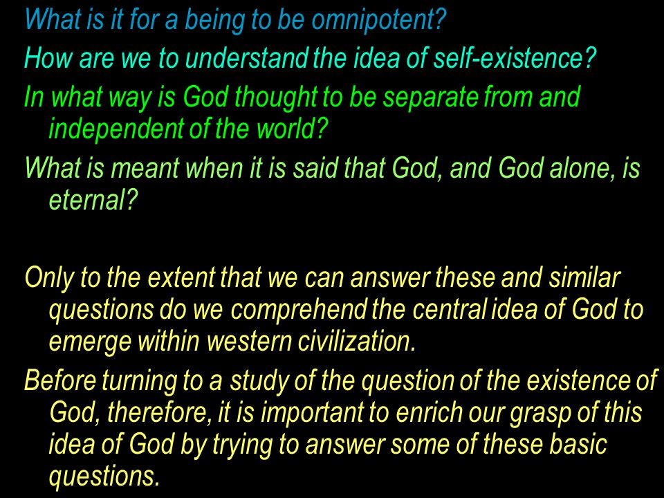 the two way in which st thomas aquinas proves the existence of god St thomas aquinas listed what he saw as five intellectual proofs of the existence of god—proofs that were dependent on reason and observation, not the revealed word of god.