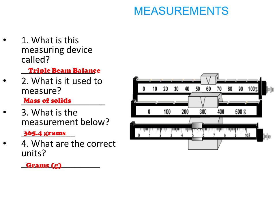 A Device That Measures Weight : St semester exam review ppt video online download