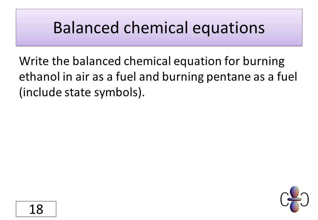 What are the Parts of a Chemical Equation?
