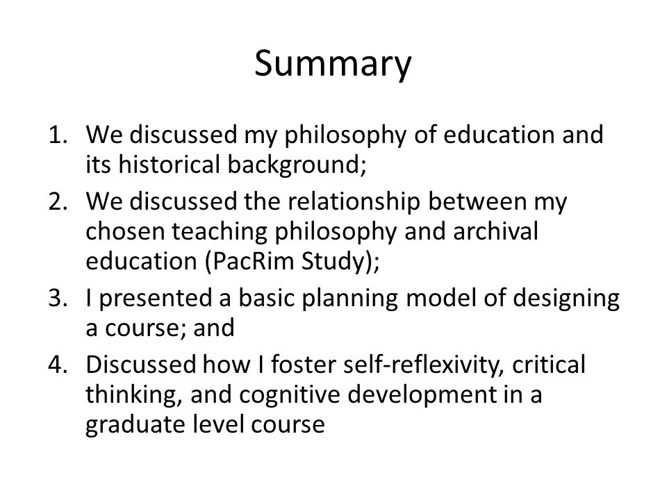 about relationship between philosophy and education