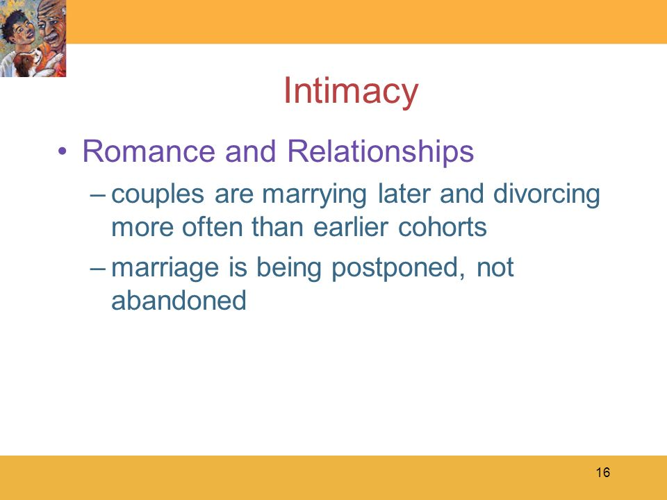 Intimacy Romance and Relationships