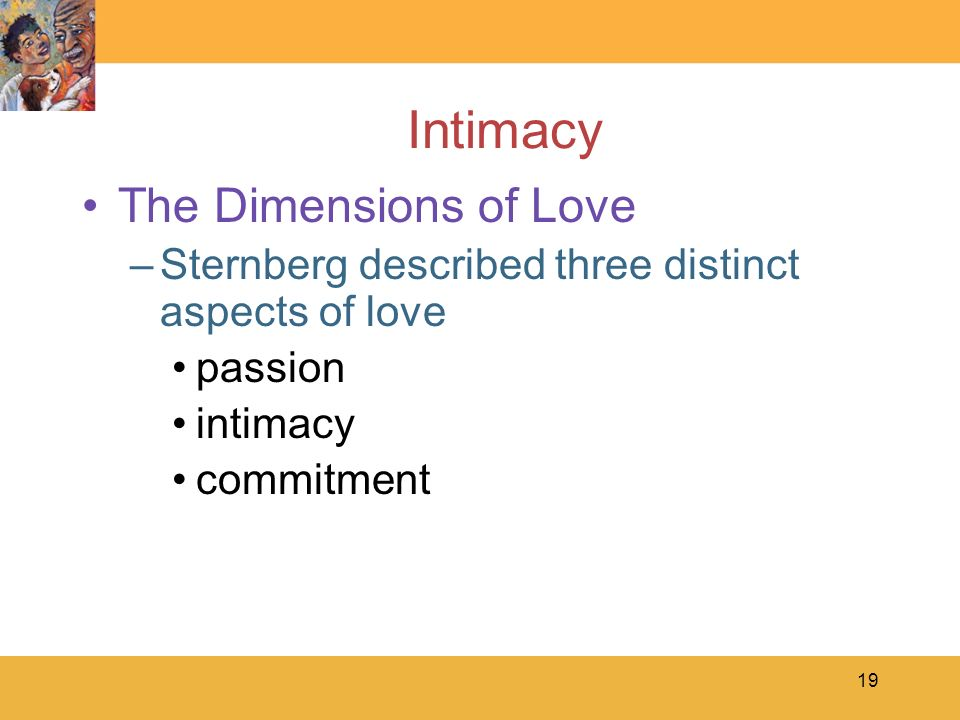 Intimacy The Dimensions of Love