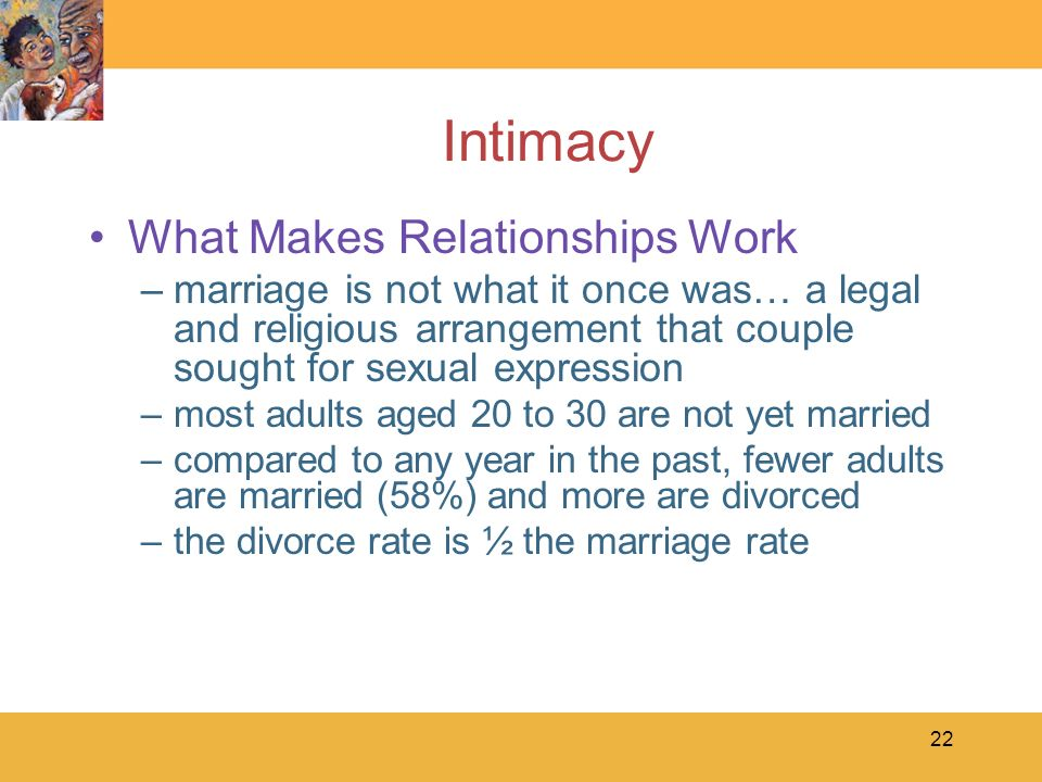 Intimacy What Makes Relationships Work