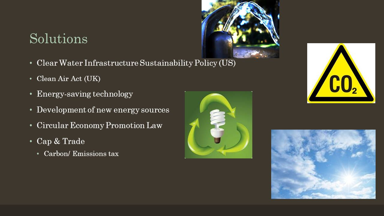 Solutions Clear Water Infrastructure Sustainability Policy (US)