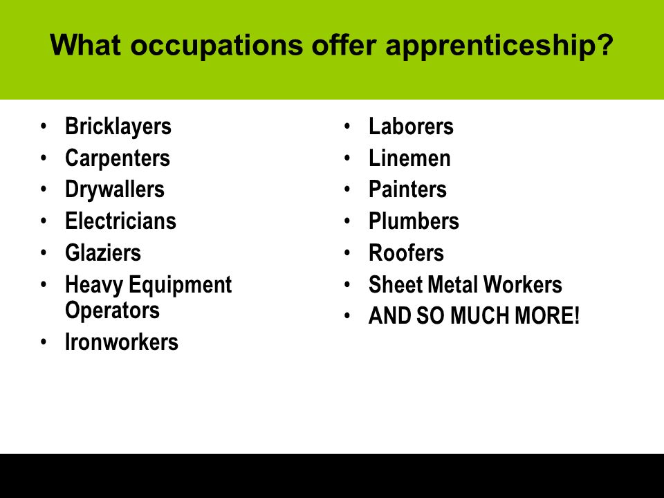 how to find an apprenticeship job