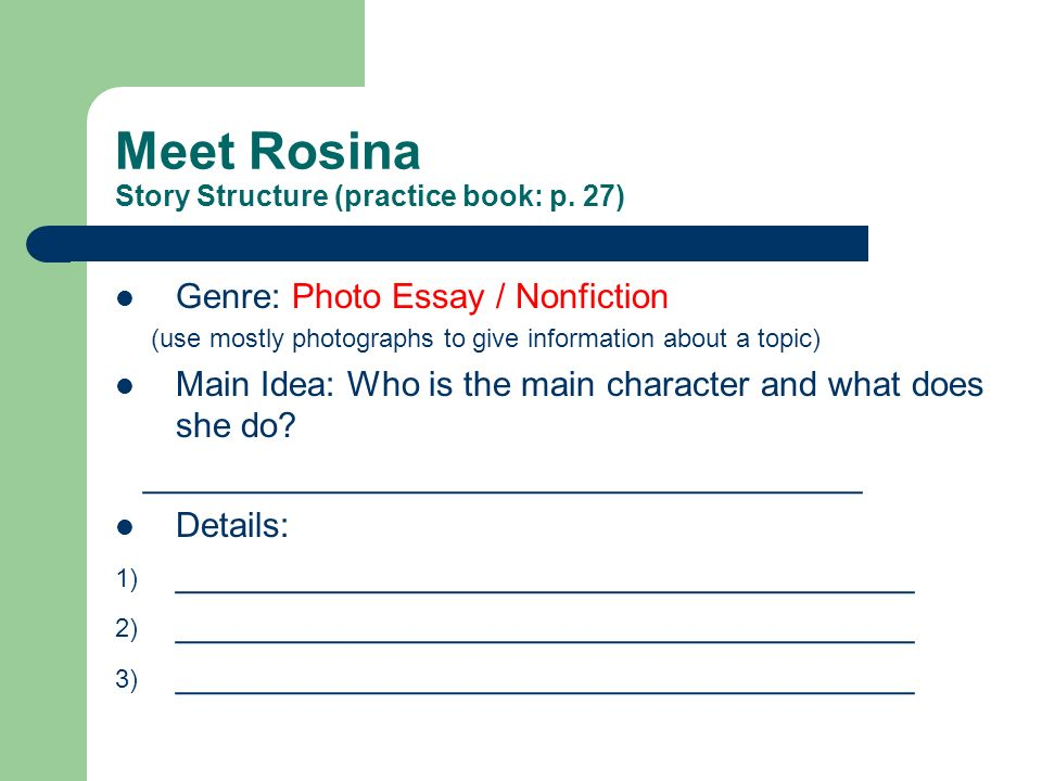 meet rosina the story online