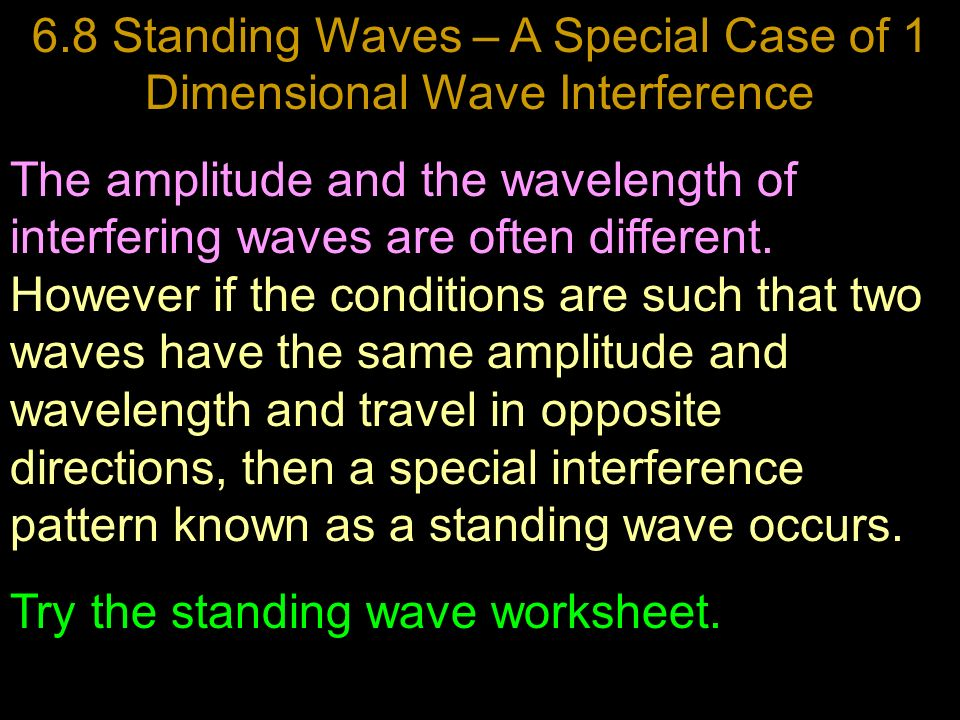 Unit Three Waves And Sound Chapter Six Seven And Eight Ppt Video