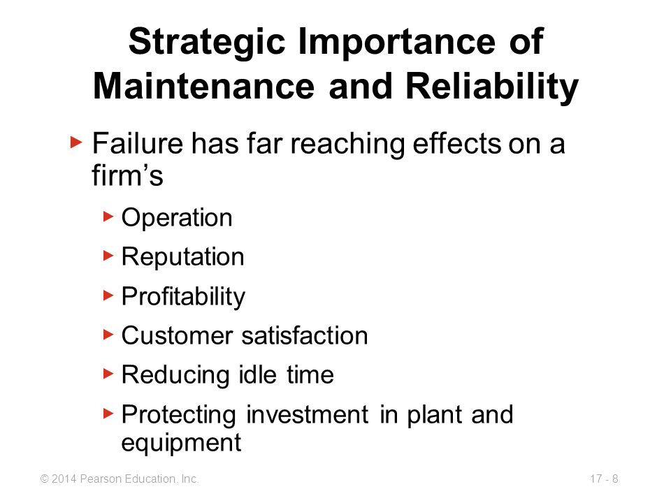 Maintenance And Reliability Ppt Video Online Download