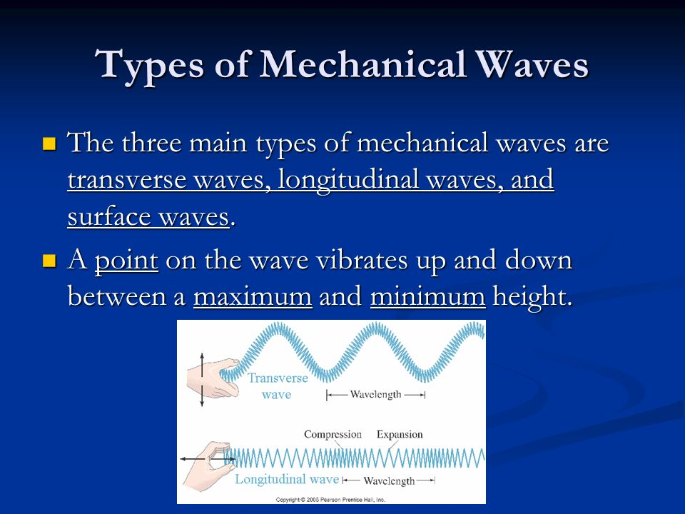 what is the relationship between mechanical waves and vibrations