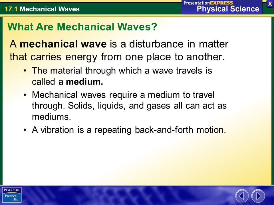 What Are Mechanical Waves