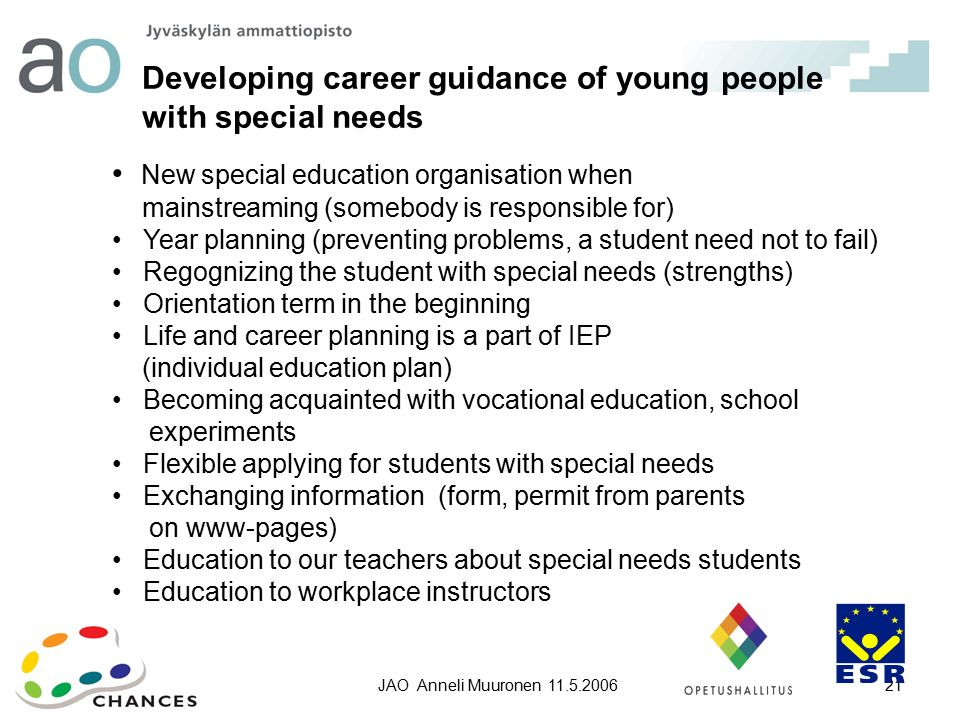 mainstreaming in special education pdf