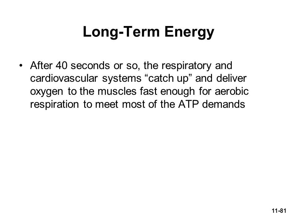Long-Term Energy